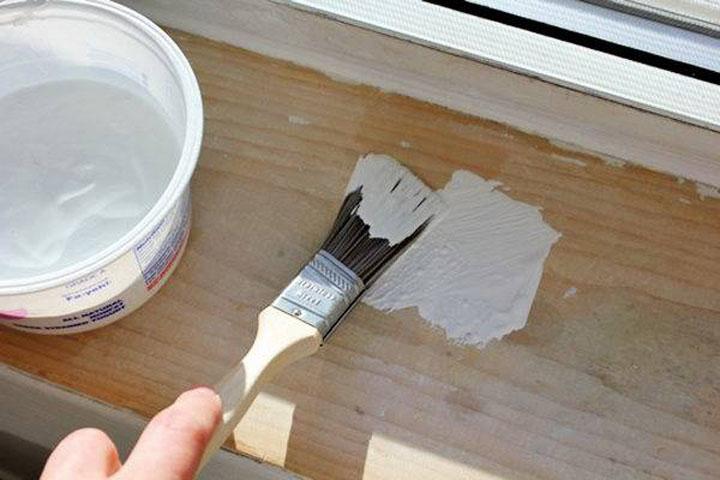 Акриловая белая краска