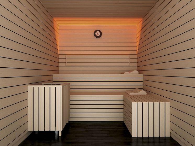 Вагонка в финской бане