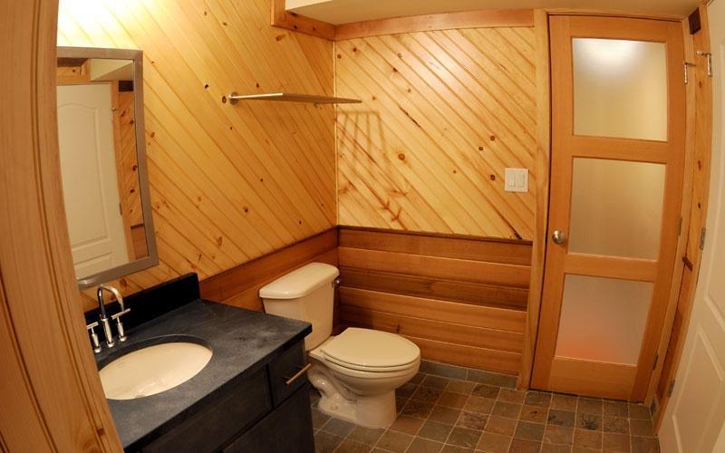 Ванная комната вагонкой