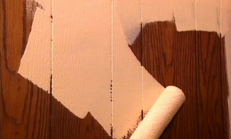 Окрашивание дерева
