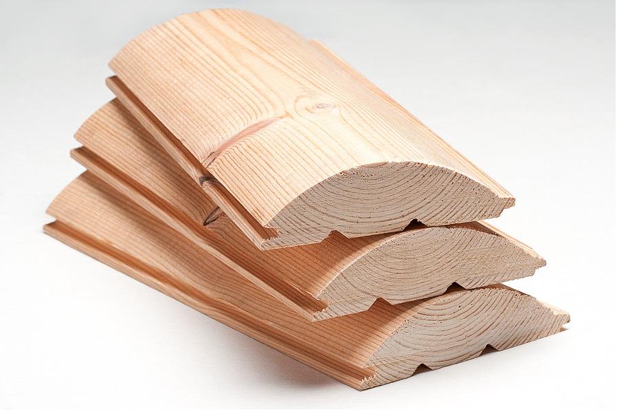 Блок хаус из древесины